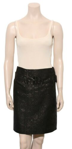 PRADA Metallic Detail Skirt (Size 40)