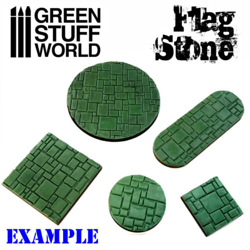 Warhammer Infinity AOS 40K Model Rolling Pin Flagstone Create your own bases