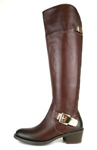 85e30bcad21 Vince Camuto Bocca Over Knee Leather Boot Brown Women Sz 6.5 M 5248 ...