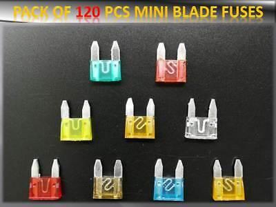 10 Pièce AUTO Mini lame fusibles 10 A 15 A 20 A 25 A 30 A