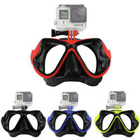 Camera Mount Diving Mask Scuba Snorkel Swimming Goggles For Gopro Hd Hero 2 3 3+