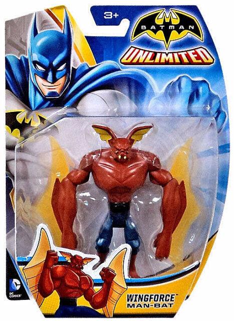 DC Comics_BATMAN Unlimited Collection_Wingforce MAN-BAT 4 inch action figure_MIP