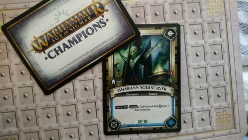 Isharann Soulscryer Warhammer Age Of Sigmar Champions TCG UNCLAIMED
