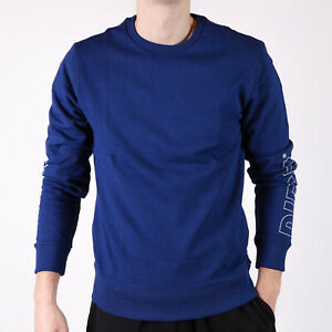 Diesel-UMLT-Willy-Blau-Herren-loungewear-Sweatshirt-XXL