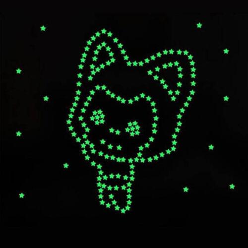 3D Stars Glow In The Dark Luminous Fluorescent Wall Stickers Buy 1 Get 1 Free !!