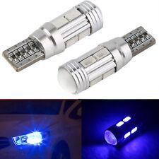 T10 501 W5W Car Sidelight Bulb Error Free Canbus 10SMD LED Xenon Blue XC