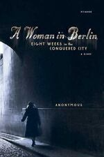 A Woman in Berlin: Eight Weeks in the Conquered City: A Diary-ExLibrary