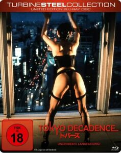 Tokyo-Decadence-Steel-Edition-Blu-ray-Limited-Edition-FSK-18-gebr-gut