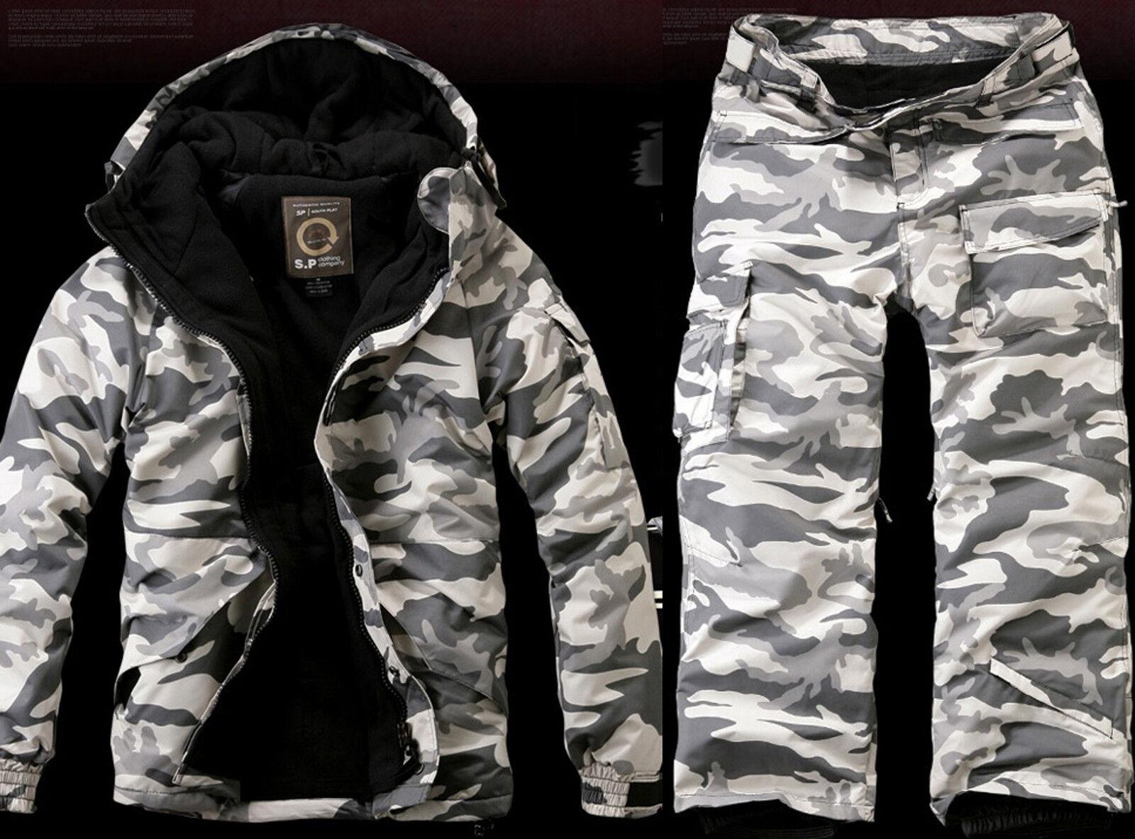 Southplay Mens Premium Winter Waterproof Ski-Snowboard Wear BJ107(Size- S2XL)