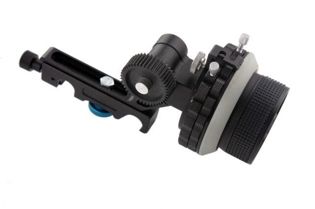 DSLR 15mm Rod A/B Hard Stops Follow Focus For Rail Rod Support Camera DV 5D2 GH1