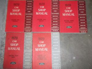 1970 ford fairlane falcon maverick mustang thunderbird service shop rh ebay com Fender Mustang Manual 1970 mustang shop manual pdf