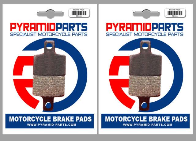 Beta 50 ProRace 12/10 2004 Front & Rear Brake Pads Full Set (2 Pairs)