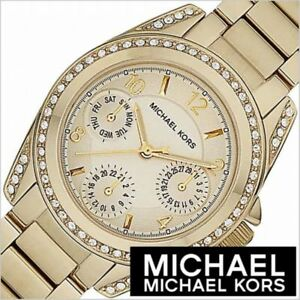MICHAEL-KORS-MK5639-MINI-BLAIR-GOLD-TONE-W-CRYSTALS-LADIES-CHRONOGRAPH-WATCH