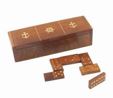 Set di dominos marina COULEURMER - legno e ottone - decorazione