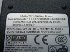 Alimentation D'ORIGINE SAMSUNG 12V 3,33A XE303C12 Chromebook ATIV Smart PC XE500