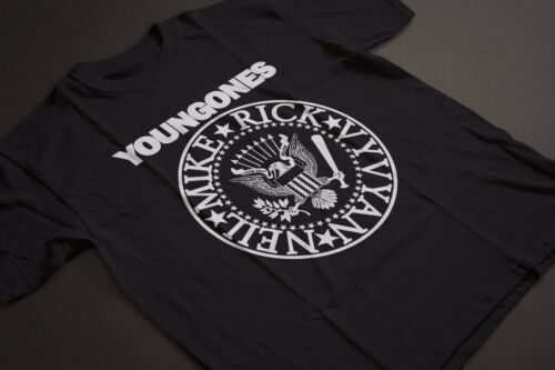 RAMONES PARODY Young Ones Inspired TShirt Rick Vivyan Mike Neil GILDAN HEAVY