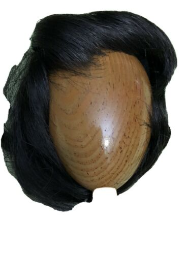 "MIGUEL Vintage Doll Wig by Playhouse in DARK BROWN Size 13""-14"" NOS"