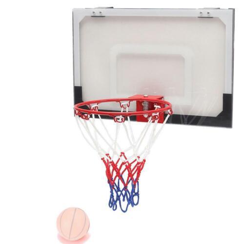 Basketball Ring Hoop Net Wall Mounted Indoor Outdoor Basket Hanging NEW Z4Z6