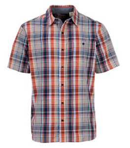 45b5dc0a9e6 Image is loading NEW-RedHead-Madras-Short-Sleeve-Plaid-Shirt-Size-