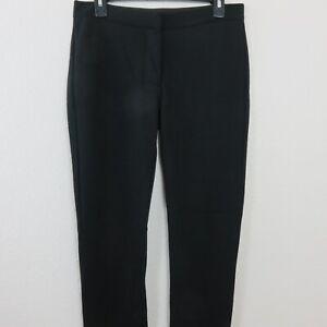 6f72e46c0a994 JIMMY CHOO for H&M Stretch Pants Size US 8 EUR 38 Black Viscose ...
