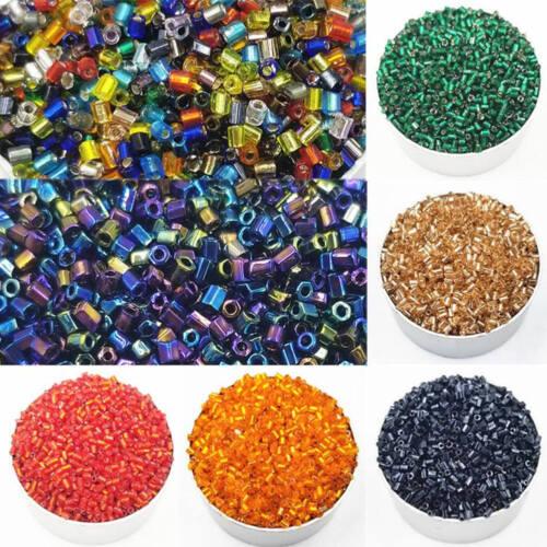 1000 2.6MM Perlen Speichelfest Spacer Beads DIY Schmuck Basteln Neu