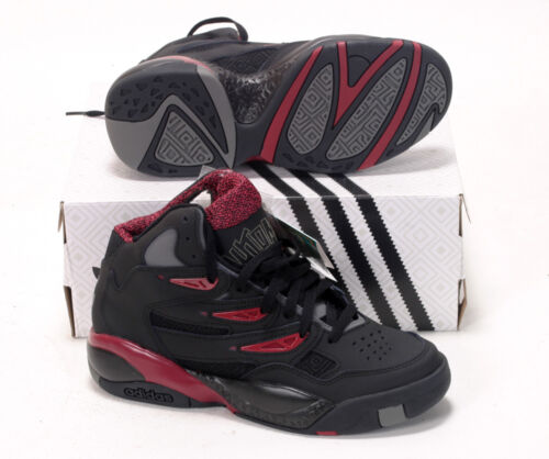 Adidas Originals da 5 Uomo C75206 Mutombo Bordeaux Scarpe Nero 7uk 6 Basket 2 dBXqwETx