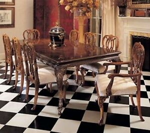 Image Is Loading KARGES Chippendale Dining Room Table