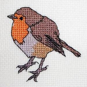 Christmas-Robin-modern-counted-cross-stitch-card-pdf-pattern-chart-embroidery