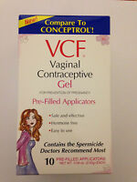 Vcf Contraceptive Gel Pre-filled Applicators - 10 Count