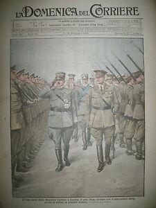 LONDRES-Gal-DIAZ-Mal-HAIG-CHEF-D-039-ORCHESTRE-CINEMA-LA-DOMENICA-DEL-CORRIERE-1919