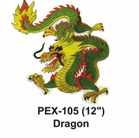 Dragon Embroidered Animal Patch (12)