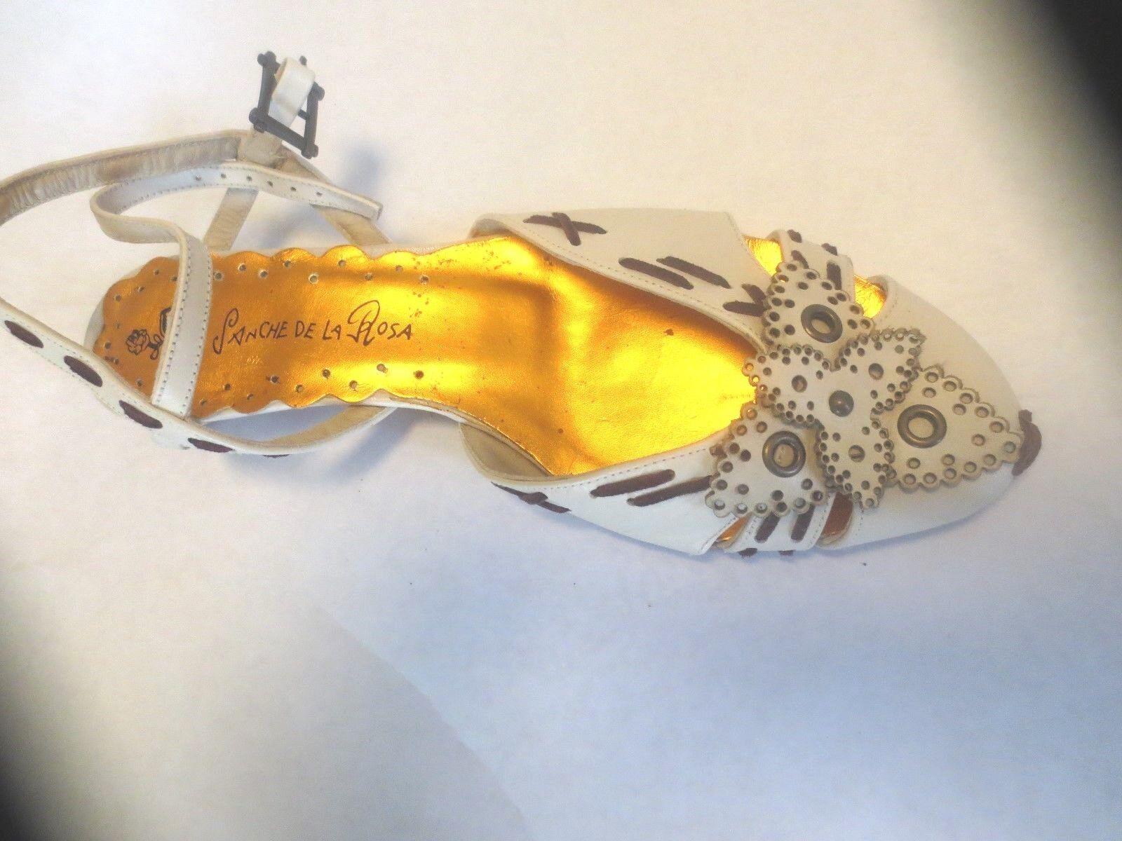 Sanche  tout cuir beige NEUVE Valeur 130E Pointure 36