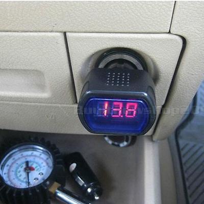 Hot Mini Car Battery Voltage Monitor Voltage Meter 12V/24V BYWG