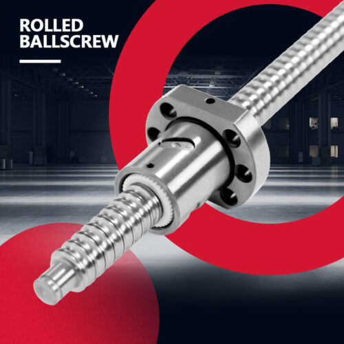 Ball Screw 1000MM End Machined Ballscrew Single Ballnut Anti-Backlash Ballscrew