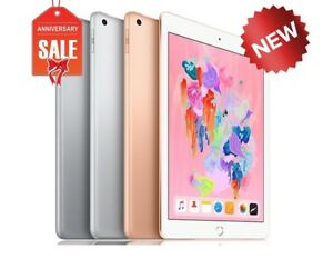 NEW-Apple-iPad-6th-gen-2018-32GB-WiFi-Cellular-Unlocked-9-7-034-GOLD-GRAY-SILVER