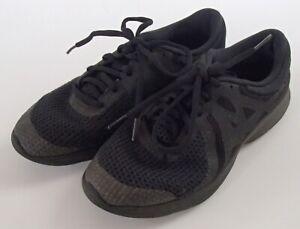 Older Boys Nike Black Fabric Trainers 5