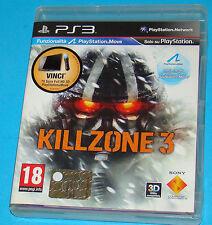 Killzone 3 - Sony Playstation 3 PS3 - PAL