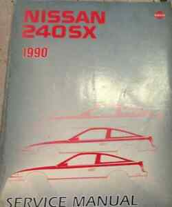 1990 nissan 240sx service repair shop workshop manual factory oem x rh ebay com 1992 240Sx 1989 240Sx