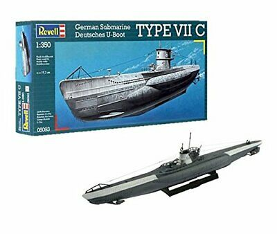 German Submarine Type VII C 1:350 Revell Model Kit
