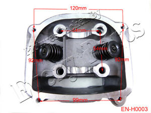 image is loading gy6-150cc-engine-cylinder-head-with-valves-moped-