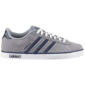 Image is loading New-ADIDAS-MEN-Neo-Derby-Vulc-Suede-Casual-
