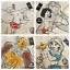 Personalised-DISNEY-WB-Canvas-Tote-Bag-Winnie-Mickey-Simba-Minnie-Mermaid thumbnail 147