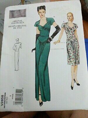 Vogue 2885 Elegant Vintage 1944 Skirt /& Jacket Pattern