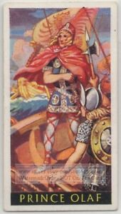 Prince-Olaf-Viking-King-Of-Norway-Christian-1930s-Ad-Trade-Card