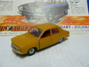 Dinky Toys Ancien Voiture Renault 12 Référence 1424