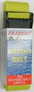 Scuba Diving Dive Weight Belt 58in Equipment Yellow WB36