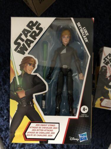 Moc Star Wars Galaxy Of Adventures 5 Inch Jedi Knight Luke Skywalker