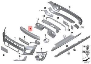 Genuine MINI Cooper F55 F56 F57 Cover Air Duct Brake Left Chrome 51117337811