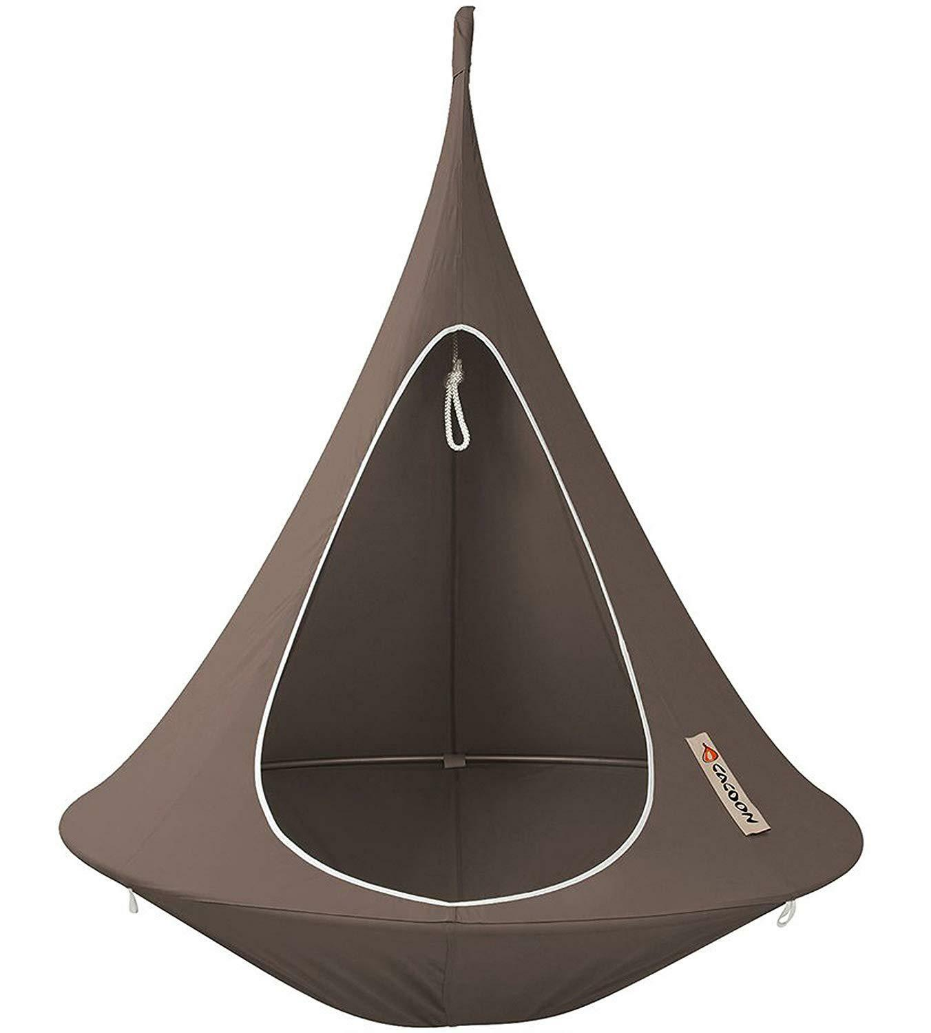 Cacoon ST7 Hängezelt Single – Farbe  Taupe Taupe Taupe Ø1,5 m | Sale Outlet