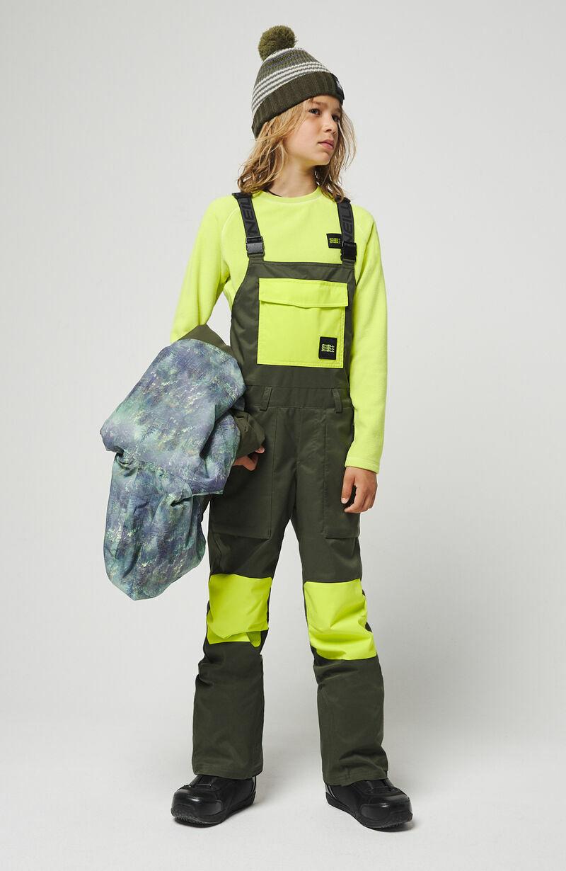 O'Neill Bib Ski Snowboard Pant --Jongens --10, Forest Night